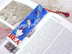 """Marcapáginas personalizado """"Bea"""" / Custom bookmark """"Bea"""""""