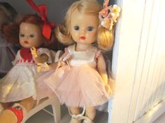 """1950's California Storybook Dolls """"Muffie"""". I bought one of these today at the 2nd hand for .50 cents. She's in good shape, but her hair was bad, so I'm restoring her."""