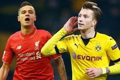 Bongdaso - Bóng đá số - Tin tức - Liverpool - Dortmund: Lợi thế mong manh