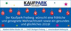 Der Kaufpark Freiberg wünscht eine frohe Weihnachtszeit und ein gesundes und glückliches 2019! Freundlich, Park, Home Decor, Christmas Time, Stuttgart, Parks, Interior Design, Home Interior Design, Home Decoration