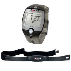 Polar FT1 Heart Rate Watch with Chest Strap (Black) | Leisure Fitness - The Equipment Store