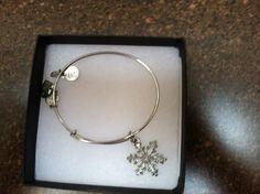 Alex and Ani Snowflake Charm Bracelet | eBay