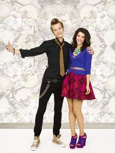 Nick Roux and Erica Dasher as Billy and Jane in Jane By Design