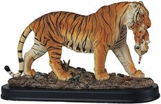 StealStreet SS-G-54110 Bengal Tiger Collectible Wild Cat Animal Decoration Figurine Statue – Friendly Faces