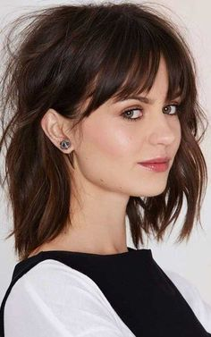 25 Long Bob with Bangs | Bob Hairstyles 2017 - Short Hairstyles for Women