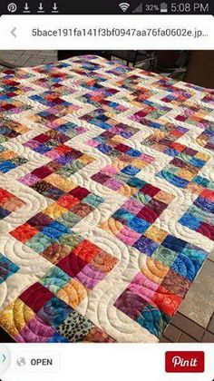 "Joy in the morning Joy in the Morning Quilt Top by Gayle Bong S is for Scraps http://www.gaylebong.com/ Coverlet for Rockford Rescue Mission 9"" Pieced Block"
