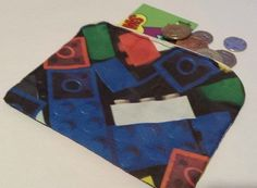 Coin Purse made using LEGO fabric £5.00