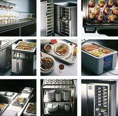 The foodsupplies equipment are essential for the functioning of the kichen,