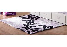 Shop for a Paige Lilac-Black Rug at Rooms To Go Kids. Find  that will look great in your home and complement the rest of your furniture.