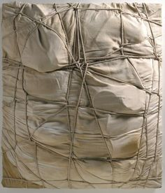 Christo and Jeanne-Claude Christo And Jeanne Claude, Line Photography, Found Object Art, Elements Of Art, Pattern And Decoration, Recycled Art, Graphic Design Posters, Texture Painting, Installation Art
