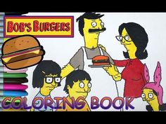 Find This Pin And More On Videos Bobs Burgers Coloring Book