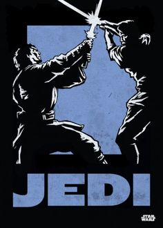 Star Wars Jedi metal poster - PosterPlate posters made out of metal