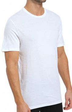 John Varvatos Star USA Homme à Manches Longues Raw Cut Edge Crew Tee Shirt prune