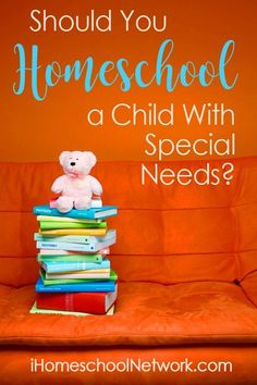 Should You Homeschool a Child With Special Needs? Homeschool Blogs, Homeschooling Resources, School Resources, Special Needs Mom, Children With Autism, Autistic Children, Teacher Organization, Learning Disabilities, Special Education