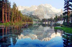 Lake Reflection, Kings Canyon National Park, CA