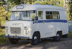 The Lindner family have converted an old 1969 ambulance into a custom campervan, with it also appearing on George Clarke's Amazing Spaces on Channel Picture: Matthew Usher. Vintage Rv, Vintage Caravans, Vintage Vans, Vintage Campers, Old Campers, Happy Campers, Camper Caravan, Camper Trailers, George Clarke Amazing Spaces