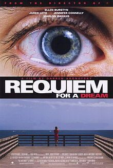 one of the most intense and tragic movies i've ever seen. Ellen Burstyn's powerful performance brought tears to my eyes.. #requiem for a dream