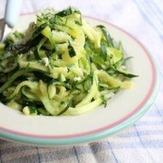 Zucchini Spaghetti #HealthyAperture