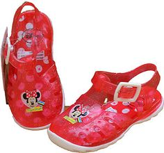 MM2 Girls Disney Minnie Mouse Jelly Sandals
