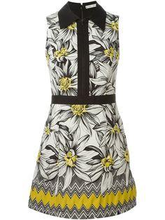 Alice+olivia Vestido Floral - Jeurissen - Farfetch.com