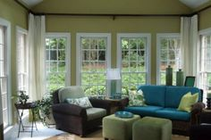 Height of the windows in the sunroom large single for Sunroom blueprints free