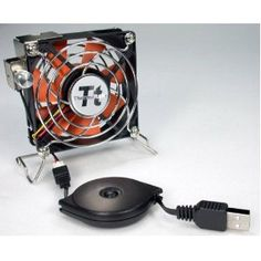 Thermaltake Mobile Fan II External USB Cooling Fan - Us (Personal Computers)  http://www.usb-blog.de/preview.php?p=B00080G0BK
