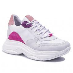 cb229afde Sneakersy STEVE MADDEN - Zela SM11000314-03005-077 White/Multi