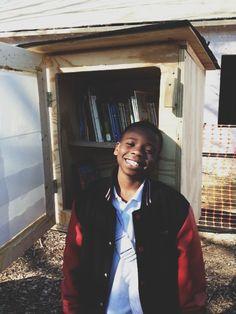 Binghampton Little Free Library  at the Binghampton Arts Garden