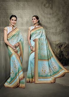 Our online shopping store has the widest range of rich indian sarees. Grab this tussar silk multi colour traditional saree for festival, mehndi and party. Tussar Silk Saree, Silk Lehenga, Traditional Sarees, Traditional Looks, Ethnic Sarees, Trendy Sarees, Indian Sarees Online, Green Saree, Casual Saree