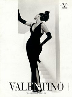 Favorite Valentino ad from the 90's.