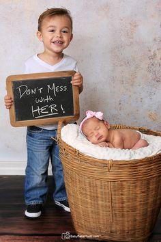 newborn photography Baby Face Photo CUTE IDEA FOR ELI AND EMMA