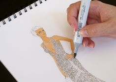 Creating Lace with Copic Markers by Jennifer Hancock. OH WOW
