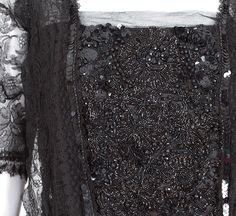 Edwardian clothing at Vintage Textile: #7237 lace dress