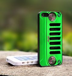 Jeep Wrangler Green - For iPhone 5 Black Case Cover | TheCustomArt - Accessories on ArtFire