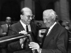 Bettino Craxi e Gianni Agnelli
