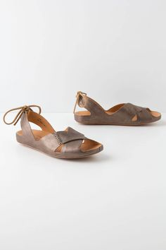 Wide fit womens leather sandals