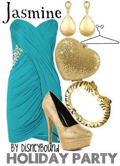 Jasmine inspired outfit - @Nicole Novembrino Novembrino Sansonetti-Biancaniello?