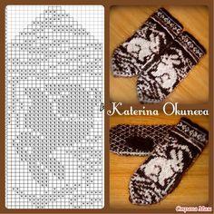 Knitting mittens pattern inspiration ideas for 2019 Knitting Charts, Knitting Stitches, Knitting Designs, Knitting Patterns Free, Knitting Projects, Baby Knitting, Crochet Patterns, Free Knitting, Crochet Mittens Pattern