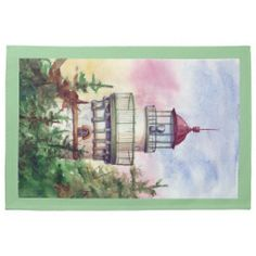 Light The Way Lighthouse Towel http://www.zazzle.com/light_the_way_lighthouse_towel-197288188554870338