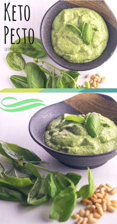 Low carb basil pesto is such an easy pesto recipe to make. The reason I say this is that is this. Ingredients, and pulse. That's it! Here I will show you how to make a fantastic pesto recipe that you can use for pesto chicken, pesto low carb zucchini pasta or a quick low carb sauce that you can freeze and use when it is convenient. via @fatforweightlos