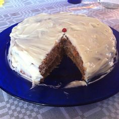 Baked by me ; Carrot Cake, Carrots, Pie, Baking, Desserts, Food, Gourmet, Carrot Cake Loaf, Torte