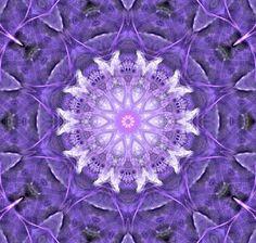 Digital Art and Design|Spun Purple Mandala by Jodi DiLiberto