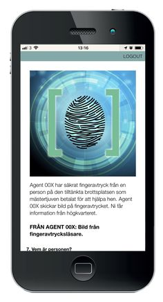 Mobilskattjakt: TOP SECRET - Agenternas hemliga uppdrag.