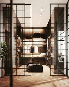 Luxury Closet Design & High End Closet Systems Walk In Closet Design, Bedroom Closet Design, Closet Designs, Master Bedroom, Master Closet, Home Design, Home Interior Design, Design Interiors, Luxury Interior