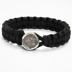 11954 A Braided Bracelet in 4mm Polyester Cord