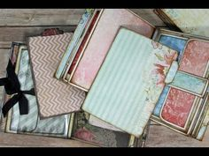 Stack The Pages Inserts and Envelope ideas - YouTube