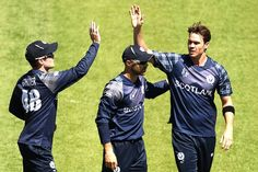 New Zealand v Scotland, Pool A, Match 6 Iain Wardlaw gave Scotland something to cheer about with two quick wickets