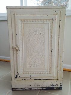 Vintage Pie Safe Counter Top