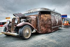 Rat Rod Bus Hot Rod Thing at the Southeastern Nationals | Flickr - Photo Sharing!