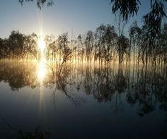 Parks Victoria - Hattah - Kulkyne National Park...  Lake Mournpall at Sunrise